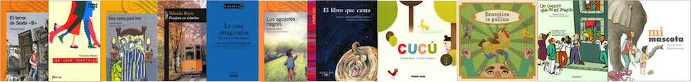 Los libros de Yolanda Reyes