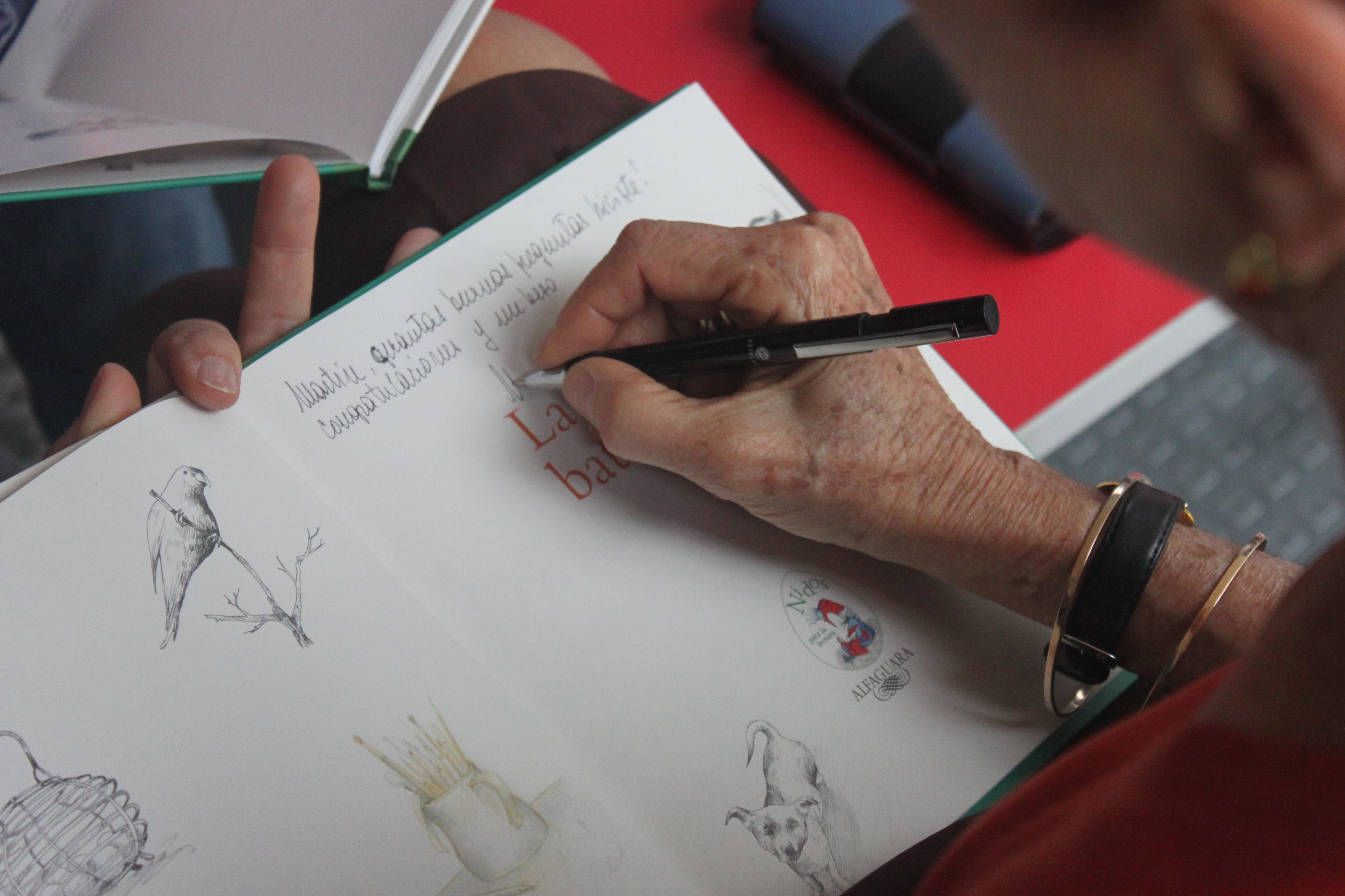 Firma de libros